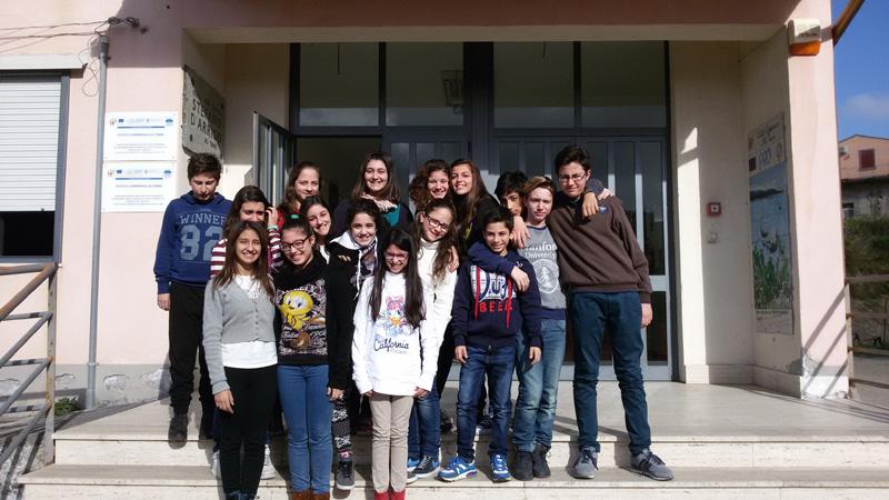 3°A dell'Istituto Comprensivo – Scuola secondaria di I grado di Alì terme (ME)