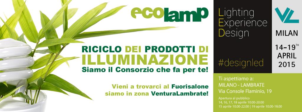 Ecolamp al Fuorisalone 2015