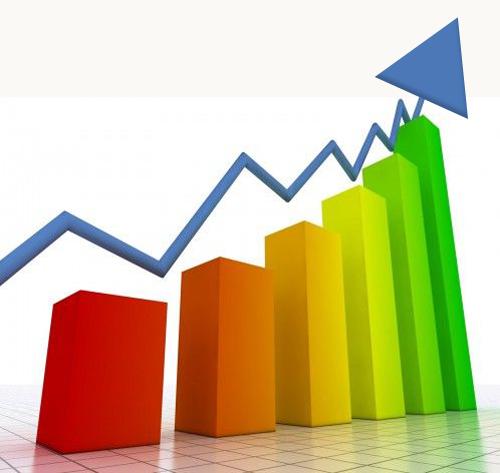 Grafico crescita raccolta