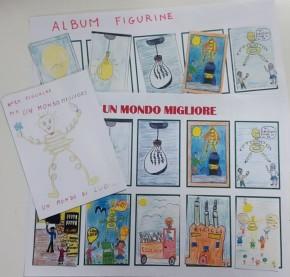 album figurine - per un mondo migliore - 4C scuola primaria bosa OR